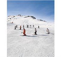 """ספורט אתגרי צרפתי! טיסה+6 לילות ע""""ב פנסיון מלא+סקי פס+העברות+ציוד מלא החל מכ-€1176* לאדם!"""