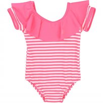 Billieblush ביליבלוש בגד ים שלם (6 חודשים-6 שנים) - ורוד פסים