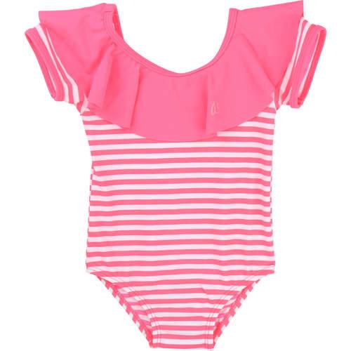 Billieblush ביליבלוש בגד ים שלם (3חודשים-2 שנים) - ורוד פסים
