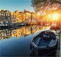 טיסות הלוך חזור לאמסטרדם ביוני ל-3-7 לילות החל מכ-$317* לאדם!