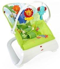 טרמפולינה מעוצבת לתינוק יער הגשם