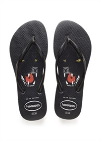 HAVAIANAS נשים // SLIM ANIMAL PRINT BLACK