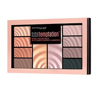 פלטת צלליות וסמקים Maybelline New York Total Temption