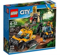 משאית בג'ונגל - משחק לילדים LEGO