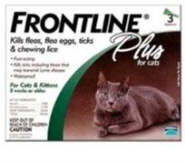 נגד פרעושים לחתול - טיפות פרונטליין פלוס Front Line Plus