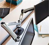 זרוע כפולה לשולחן עמידה דגם Dual Monitor Arm