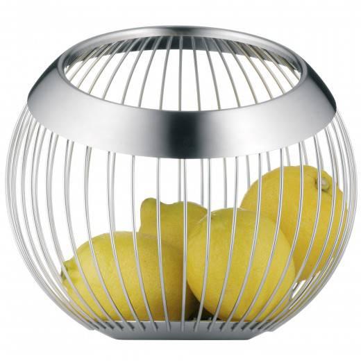 סלסלה מעוצבת מנירוסטה להגשה פירות WMF בשני גדלים לבחירה  - משלוח חינם - תמונה 2