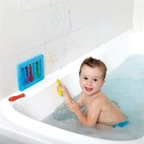 סט צבעים מחיקים לאמבטיה עם ספוג