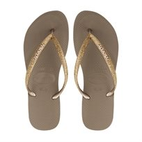 HAVAIANAS נשים // SLIM GLITTER ROSE GOLD