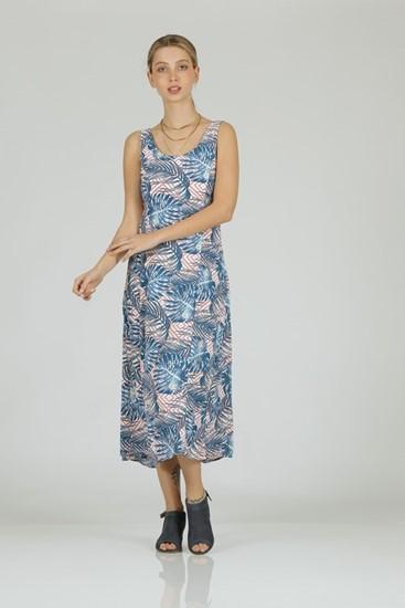 שמלה ליב כחול