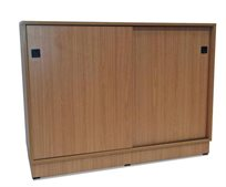 ארון ארכיב למשרד בעל 2 דלתות הזזה דגם 405