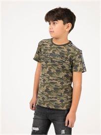 חולצת טי Denim_Brand קמופלאז