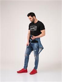 חולצת קזואל DENIM_BRAND