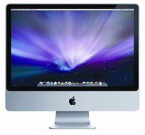 "מחשב ""Apple iMac All in one  24 זיכרון 4GB דיסק 640GB"