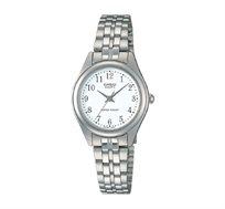 שעון יד אנלוגי קלאסי - כסף