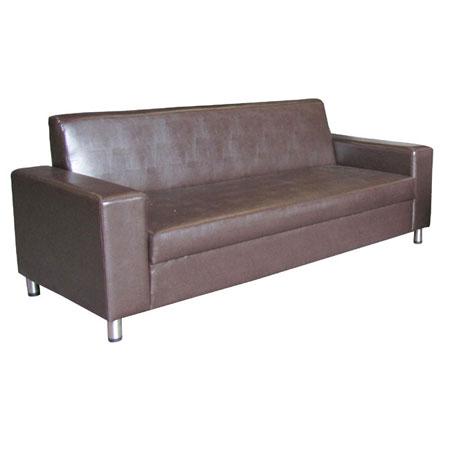 ספת דו ותלת מושבית מפנקות ונוחות מרופדות בדמוי עור בשילוב רגלי ניקל Or Design דגם טקסס - תמונה 5