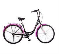 """אופני עיר מעוצבים עם הילוך אחד ומעצור רגל במידה 26"""" CITY BIKE"""