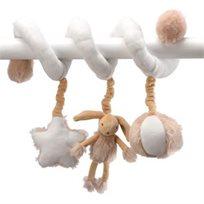 משחק לעגלה/מיטת תינוק, ארנב - חדש!!