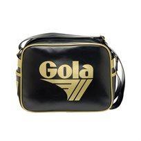 Gola - תיק צד ספורטיבי אופנתי בצבע שחורזהב