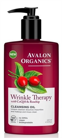 Avalon Organics Wrinkle Therapy Cleansing Oil