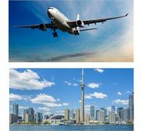 טיסה לטורונטו-קנדה בינואר עד מרץ עם Air France רק בכ-$545*
