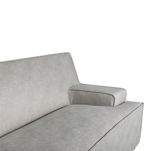 ספה רחבה 2.9 מ' מעוצבת עם קפיצים מבודדים ובד רחיץ  דגם ליסבון HOME DECOR - תמונה 2