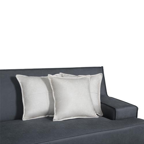 ספה רחבה 2.9 מ' מעוצבת עם קפיצים מבודדים ובד רחיץ  דגם ליסבון HOME DECOR - תמונה 4