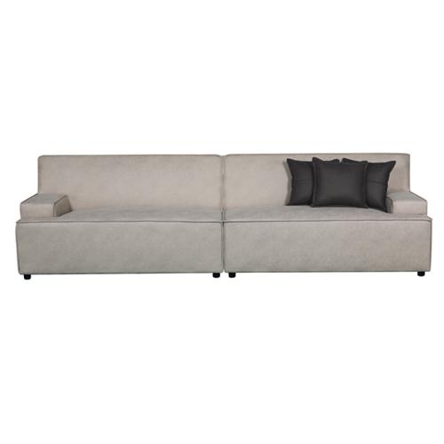 ספה רחבה 2.9 מ' מעוצבת עם קפיצים מבודדים ובד רחיץ  דגם ליסבון HOME DECOR - תמונה 7