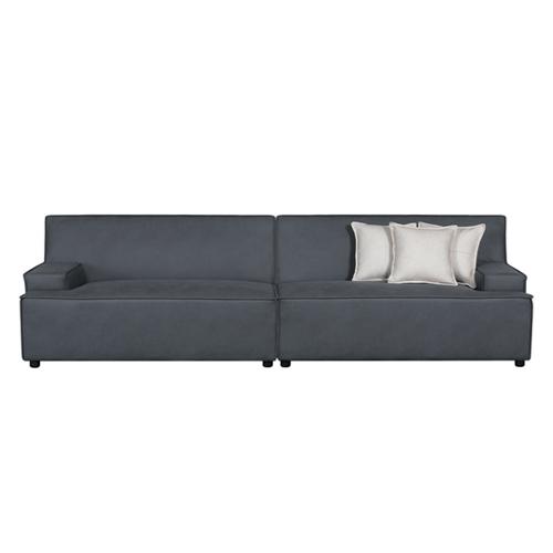 ספה רחבה 2.9 מ' מעוצבת עם קפיצים מבודדים ובד רחיץ  דגם ליסבון HOME DECOR - תמונה 5