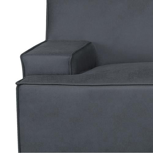 ספה רחבה 2.9 מ' מעוצבת עם קפיצים מבודדים ובד רחיץ  דגם ליסבון HOME DECOR - תמונה 6