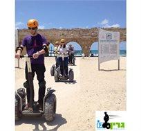 סיור בן 60 דקות בתל אביב, קיסריה וירושלים על סגווי דגם X2 החדיש, ב-₪89 בלבד לאדם!