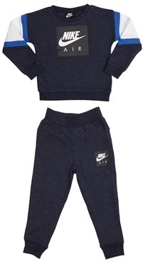 NIKE ילדים קטנים // NIKE AIR CREW AND PANT SET BLUE