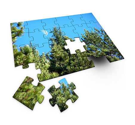 הדפסת תמונות על פאזל עץ 24 חלקים בעיצוב אישי וייחודי  - תמונה 2