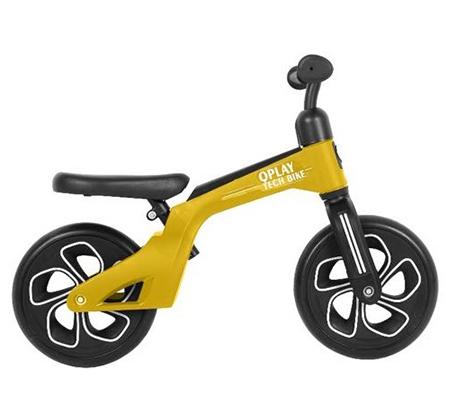 Tech Bicycle אופני איזון עם כיסא וידית מתכווננים Q Play - משלוח חינם - תמונה 2