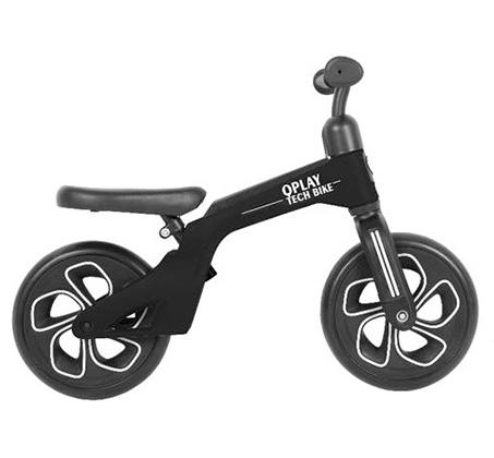 Tech Bicycle אופני איזון עם כיסא וידית מתכווננים Q Play - משלוח חינם - תמונה 3