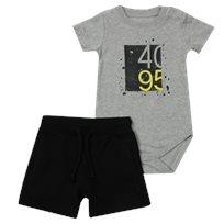 Minene חליפת בגד גוף (6-24 חודשים) - 4095 אפור