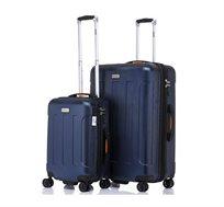 סט מזוודות 2 גדלים דגם מיאמי - צבע לבחירה + ארנק נסיעות מתנה