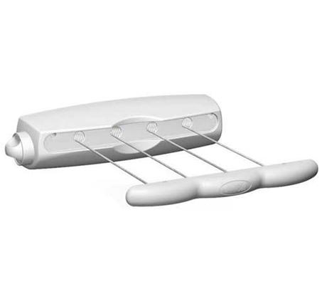 מסודר מתקן תלייה לייבוש כביסה קומפקטי מתקבע על קיר דגם ROTOR 4 תוצרת GU-39