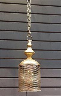 מנורת תקרה וינטג' ברונזה