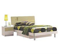 מיטה וחצי חזקה כולל שידה וזוג מגירות