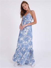 Pepe Jeans נשים - שמלה טרופית אוליביה