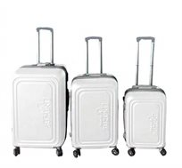 סט 3 מזוודות קשיחות Toledo - צבע לבחירה