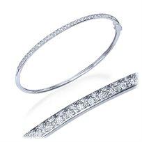 צמיד טניס קשיח משובץ יהלומים במשקל 0.65 קראט
