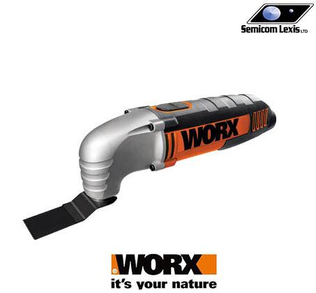 מסור ייחודי רב תכליתי המשולב עם מלטשת soni-crafte מבית WORX