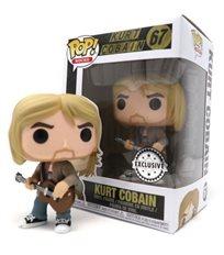 Funko Pop - Kurt Conain Exclusive (Kurt Cobain) 67  בובת פופ