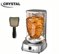 מחיר מיוחד!  מכשיר ביתי להכנת שווארמה מבית CRYSTAL כמו שראיתם בתוכנית 'מאסטר שף'