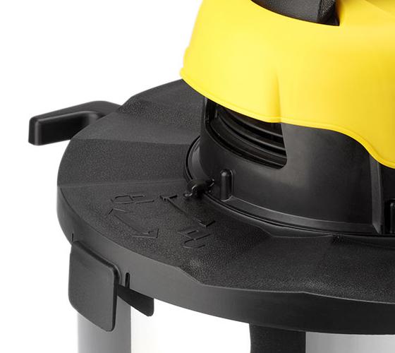 שואב אבק יבש ורטוב 180 בר דגם DVC 20XT בנפח של 20 ליטר להסרת לכלוך יבש ורטוב - משלוח חינם - תמונה 4