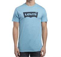 טי שירט מודפס Levi's לגברים בצבע תכלת