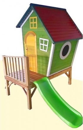 מדהים בית עץ לילדים בבניה עצמית - הבית של פיסטוק GP-01