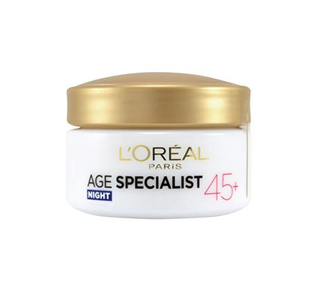 קרם אנטי-אייג'ינג לילה Age Specialist +45